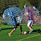Ancheer Inflatable Bumper Bubble Balls Dia 5FT (1.5m) Human Knocker Body Zorb Ball Bubble Soccer Football (Blue Dot)