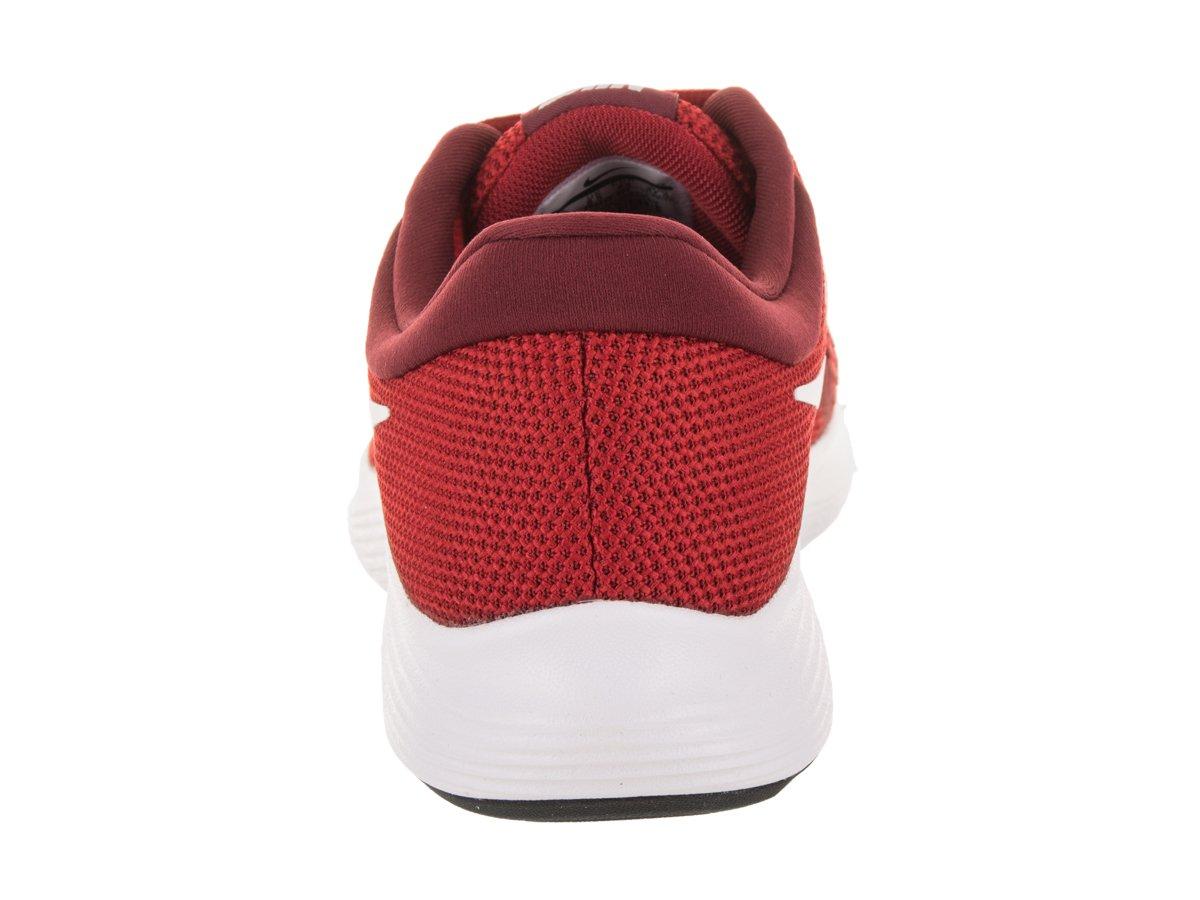 quite nice 7fa49 473b7 NIKE Men s Revolution 4 Running Shoe Gym Red White-Team Red-Black 10 ...