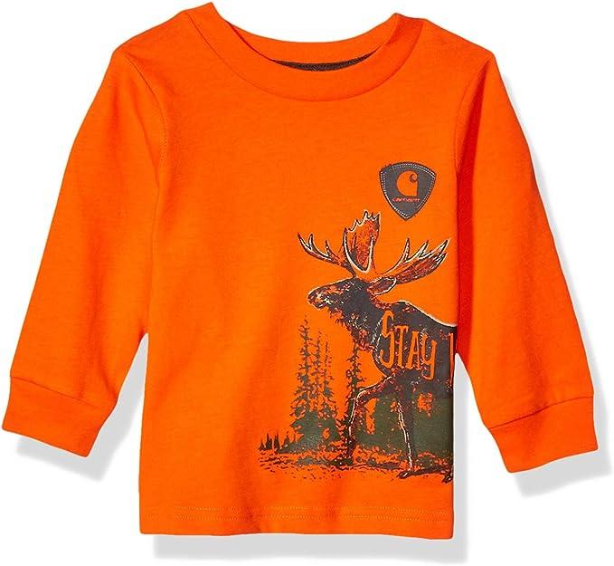 Carhartt Baby Boys Long Sleeve Tee Shirt