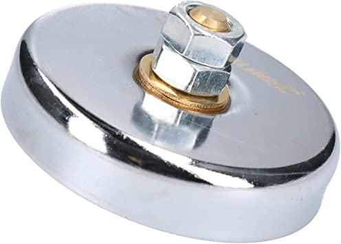 Morsetto di messa a terra magnetico blocco di saldatura a magnete Morsetto di posizionamento magnetico di messa a terra Aspirazione in acciaio rosso da 30 kg