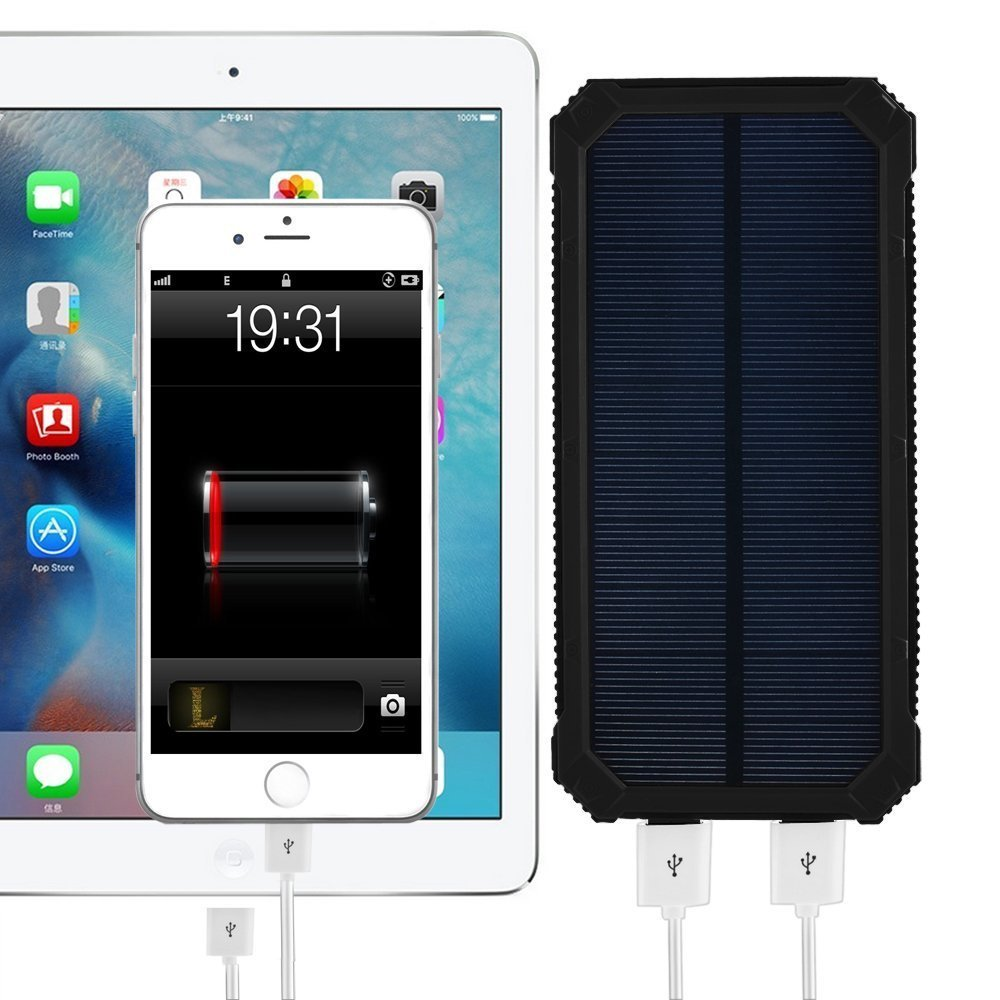 music festival must-have solar charger
