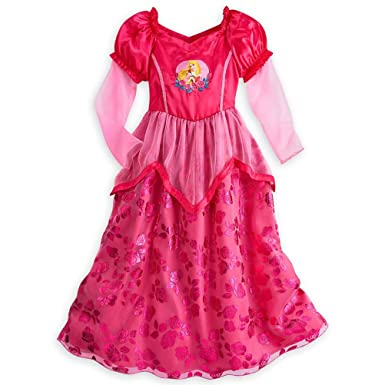 Image Unavailable. Image not available for. Color  Disney Store Princess  Aurora Little Girl Long Sleeve Nightgown Pajama ... 856517a93