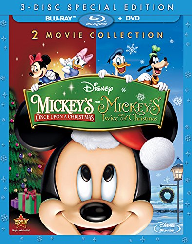 amazoncom mickeys once upon a christmas blu ray kelsey grammer wayne allwine tony anselmo jeff bennett corey burton jim cummings alan young - Mickeys Christmas