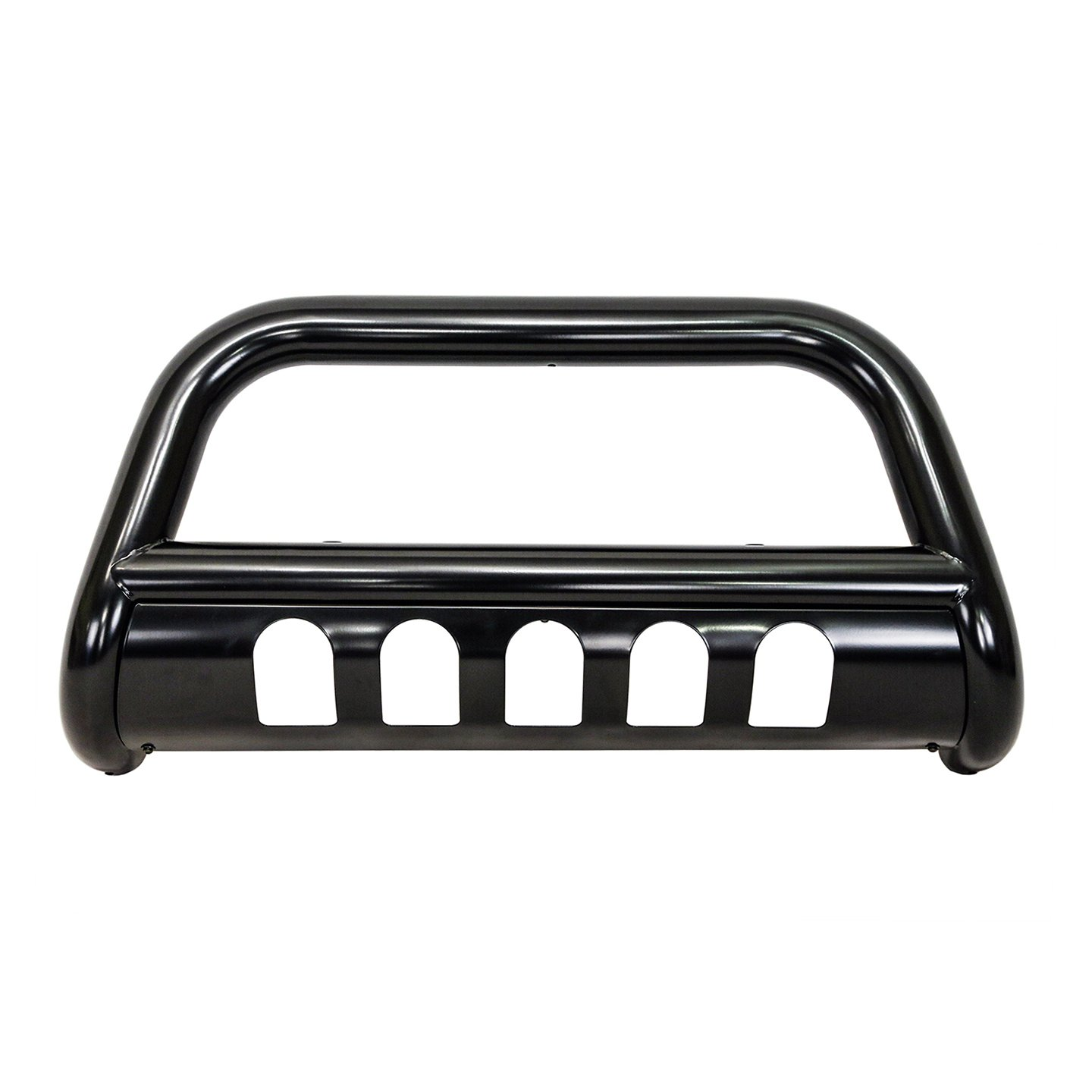 Galaxy Auto 3' Bull Bar for 2004-18 Ford F150 & 2003-17 Ford Expedition - Steel Bumper Grille Guard (Black)