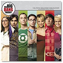2018 The Big Bang Theory Wall Calendar (Day Dream)