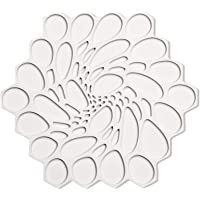 MODERN-TWIST Hive Silicone Trivet, Potholder, Single, Cloud