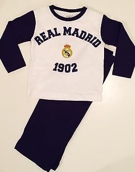 Real Madrid F.C. – Pijama Niños de todos los tamaños 100% algodón