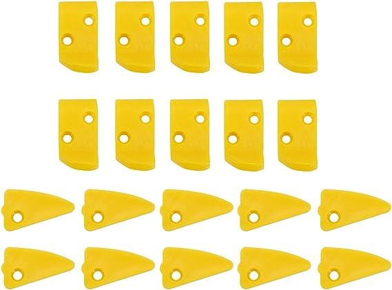Qiilu Pala per Pneumatici Copertura per stallonatore con Manicotto in plastica per Macchine per Cambio Ruote Staccabili per Pneumatici Protezione per Pala per Cambio Pneumatici