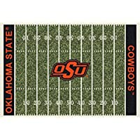 Oklahoma State Cowboys NCAA College Home Field Team Area Rugs