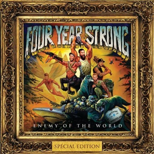Enemy of the World by Four Year Strong (2010) Audio CD