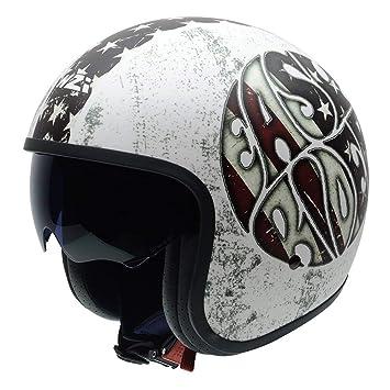 NZI 050369G882XS Rolling 3 Sun Casco con Graphics Easy Rider, Multicolor, Talla XS
