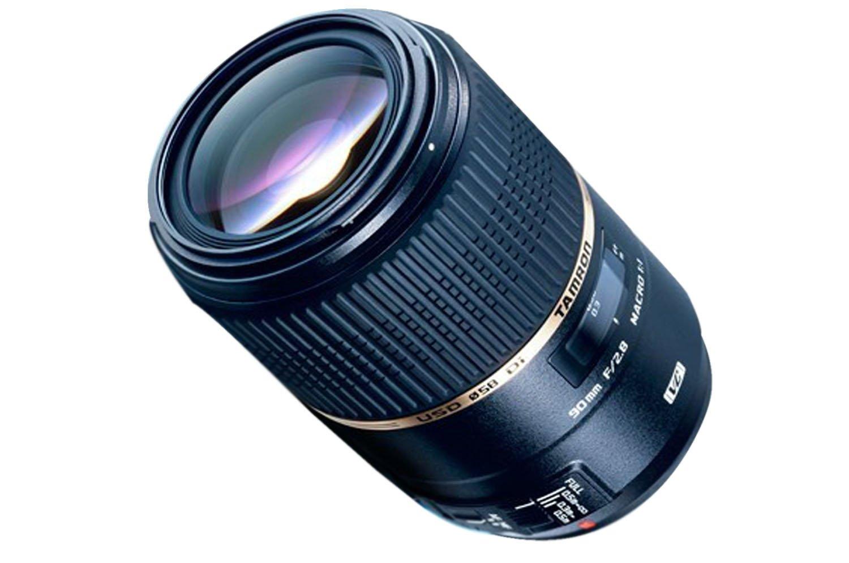 Tamron F004E SP AF 90 mm F/2.8 - Objetivo para Canon (distancia focal fija 90mm, apertura f/2.8-2,8, estabilizador óptico, macro, diámetro: 58mm) color negro por solo 239€