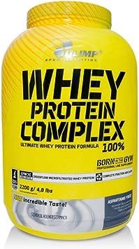 Olimp Sport Nutrition Whey Protein Complex 100% Proteína, Sabor Chocolate - 2200 gr