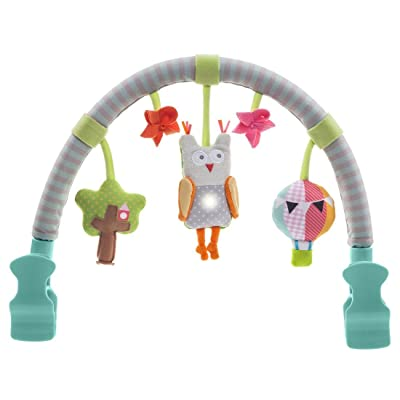 Taf Toys Musical Arch | Best for Infant and Toddlers' That Fits to Stroller & Pram, Activity Bar with Hanging Musical Owl Toy, Easier Outdoors and Easier Parenting, Keeps Your Baby Happy, Ideal Gift : Baby