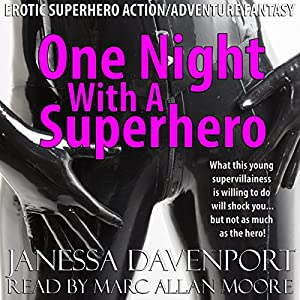 One Night with a Superhero Audiobook