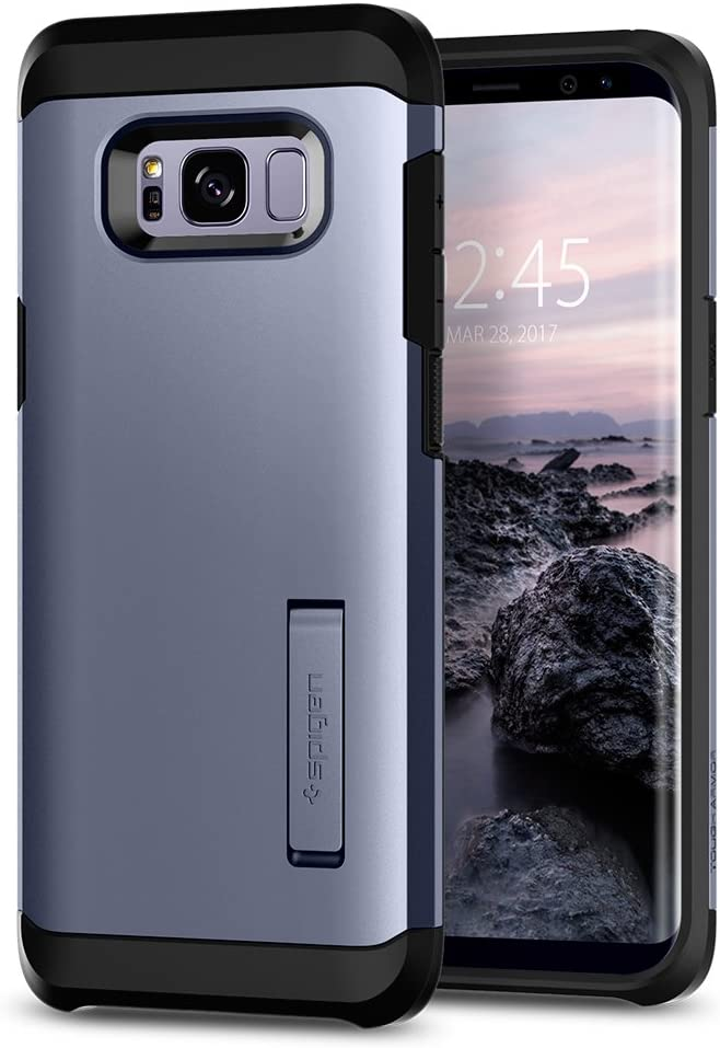 Spigen Tough Armor Galaxy S8 Designed for Samsung Galaxy S8 Case (2017) - Orchid Gray