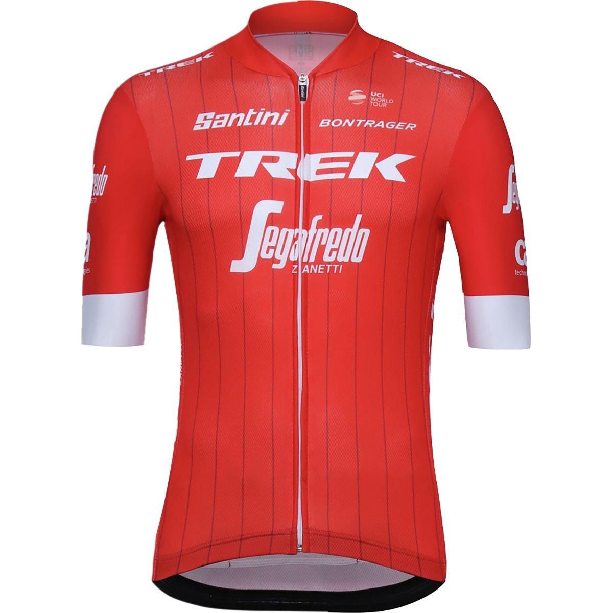 Amazon.com   Santini Trek-Segafredo Pro Team Jersey - Men s   Sports    Outdoors 1e24f19fb