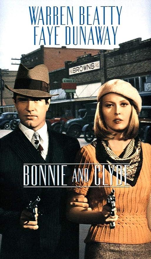 Bonnie /& Clyde Warren Beatty Faye Dunaway movie poster print