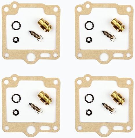 4x Carburateur Kits de r/éparation Joint Pointeau Getor CAB-Y9