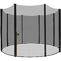 LZQ Vervangend net veiligheidsnet trampoline net voor trampoline tuintrampolines Ø 244/305/366/430 cm met ritssluiting…