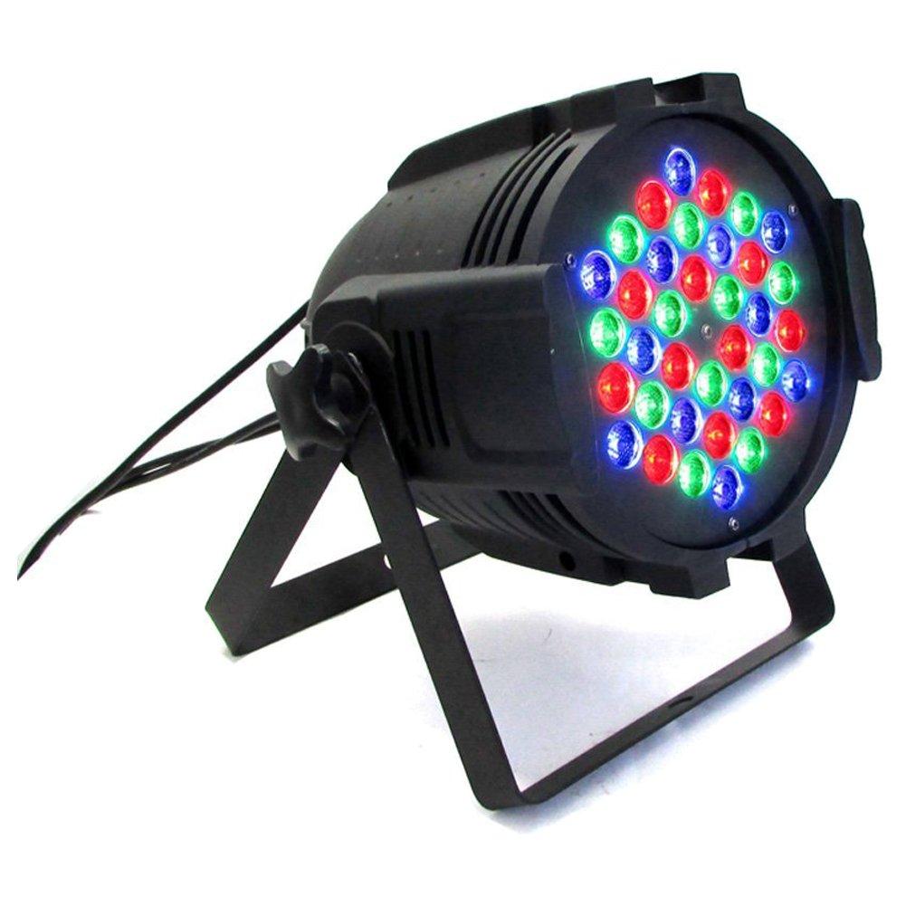 DMX512 stage lights - SODIAL(R) DJ PAR 36x3w LED Lights RGB PAR 64 108watt DMX512 Stage Party Show 4PC