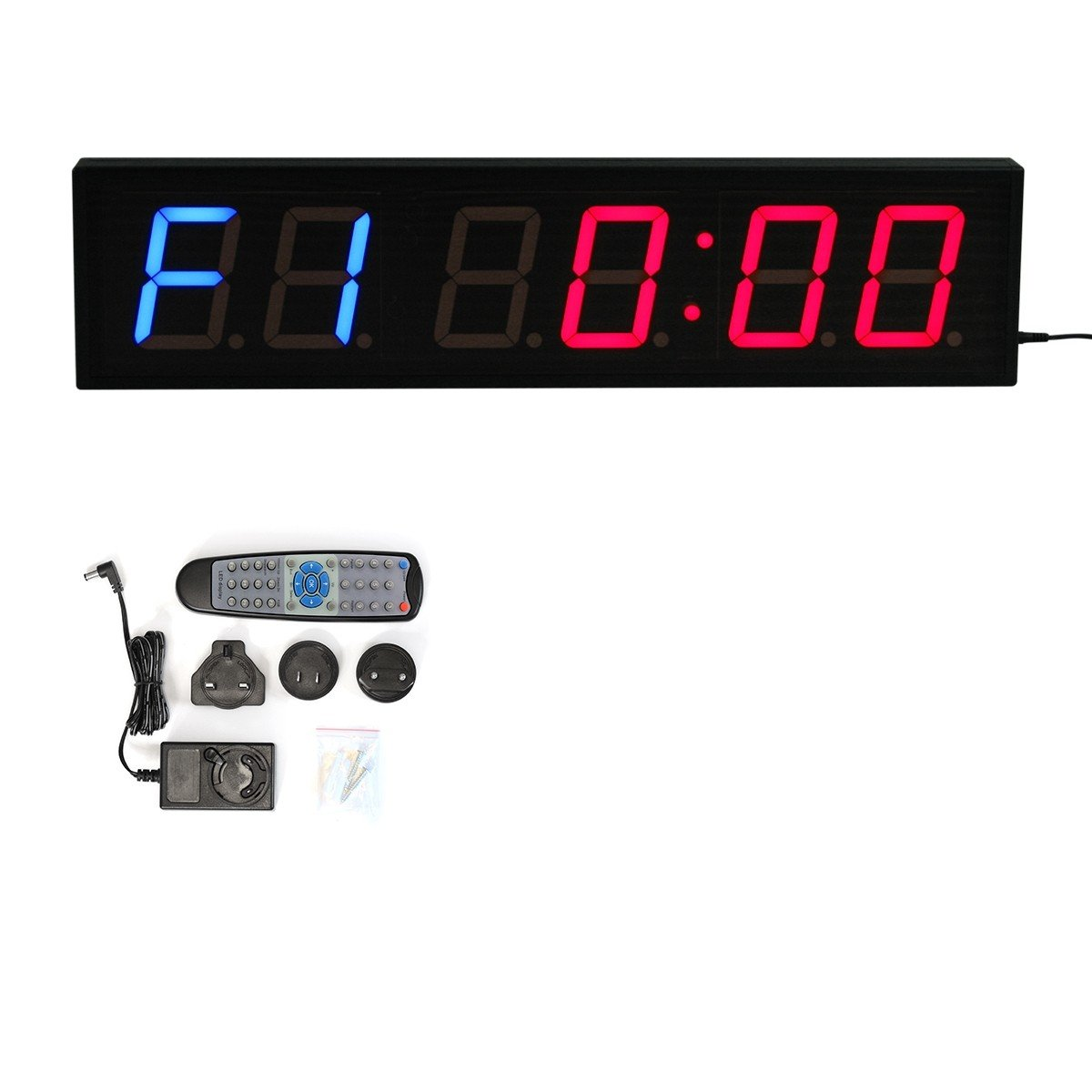 23 Led Interval Timer Gym Wall Clock Countdown For Training