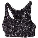 Women's Vent Bra Holloway Sportswear XL Black Space Dye