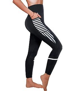 4918b9b6a9 Ursexyly Women Sauna Weight Loss Sweat Pant Fashion Design Slimming Neoprene  Hot Body Shaper Leggings