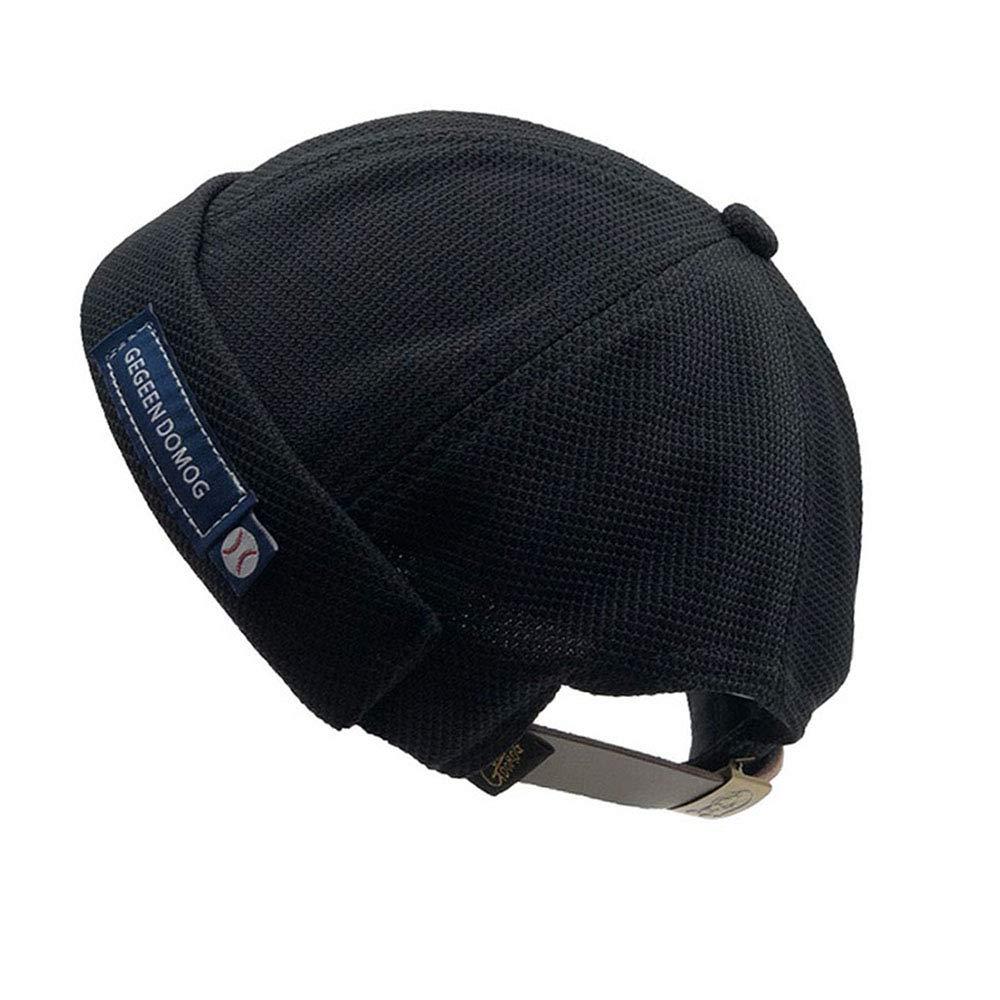 Clape Brimless Skull Watch Cap Rolled Cuff Harbour Hat Docker Leon Sailor Skullcap Beanie Hat
