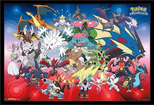 Price comparison product image Trends International Wall Poster Pokémon Mega Evolutions, 22.375 x 34