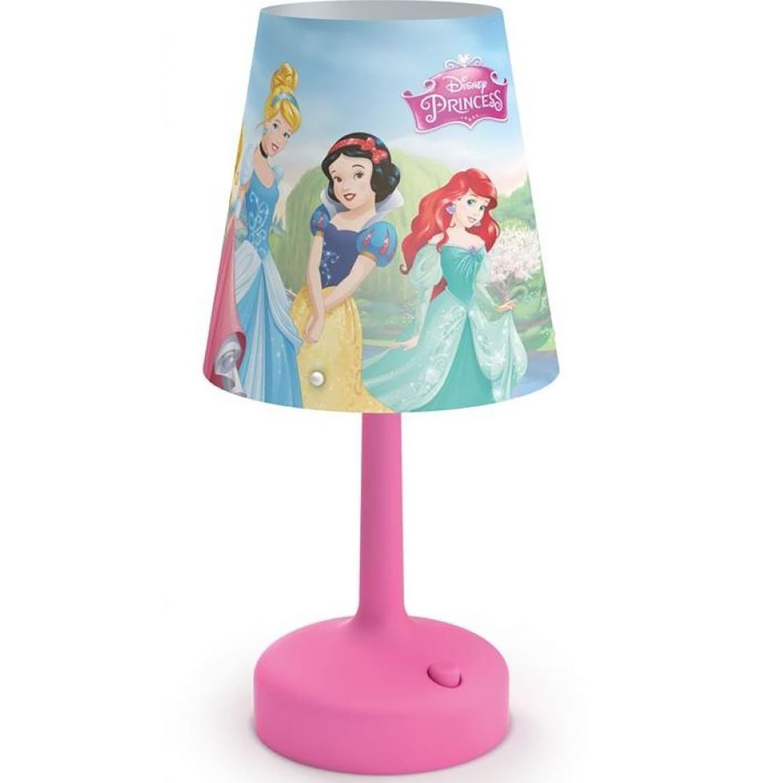 Philips Disney Princess Castle Cinderella Snow White Belle Aurora Table Lamp
