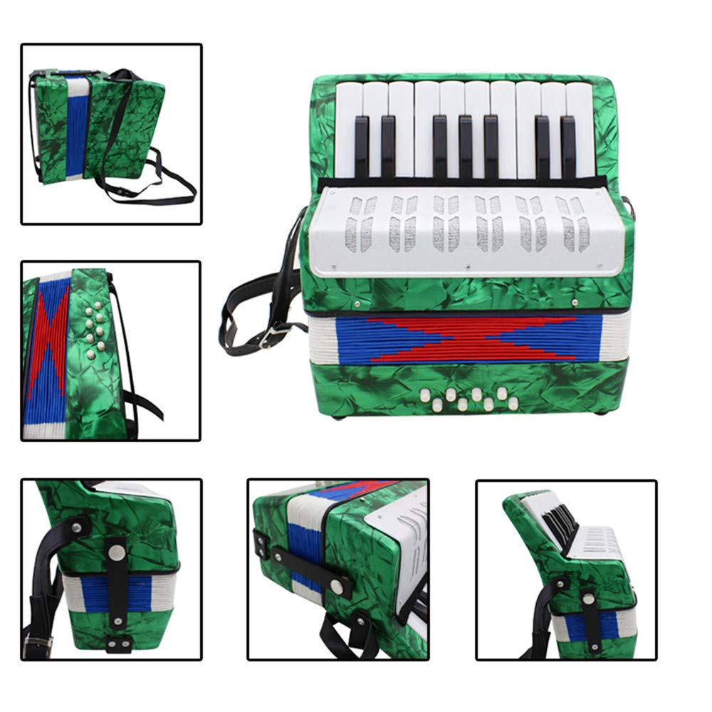 Accordions Mini Small 17-Key 8 Bass Educational Musical Instrument Toy for Kids Children Amateur Beginner by Accordions (Image #7)