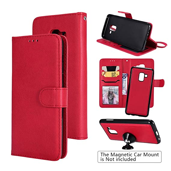 sports shoes a070d 26a2d Amazon.com: Samsung Galaxy A8 Wallet Case, Covers for A8 Samsung ...