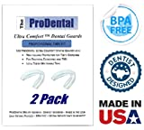 Mouth Guard for Grinding Teeth - 2 Pack, Made in