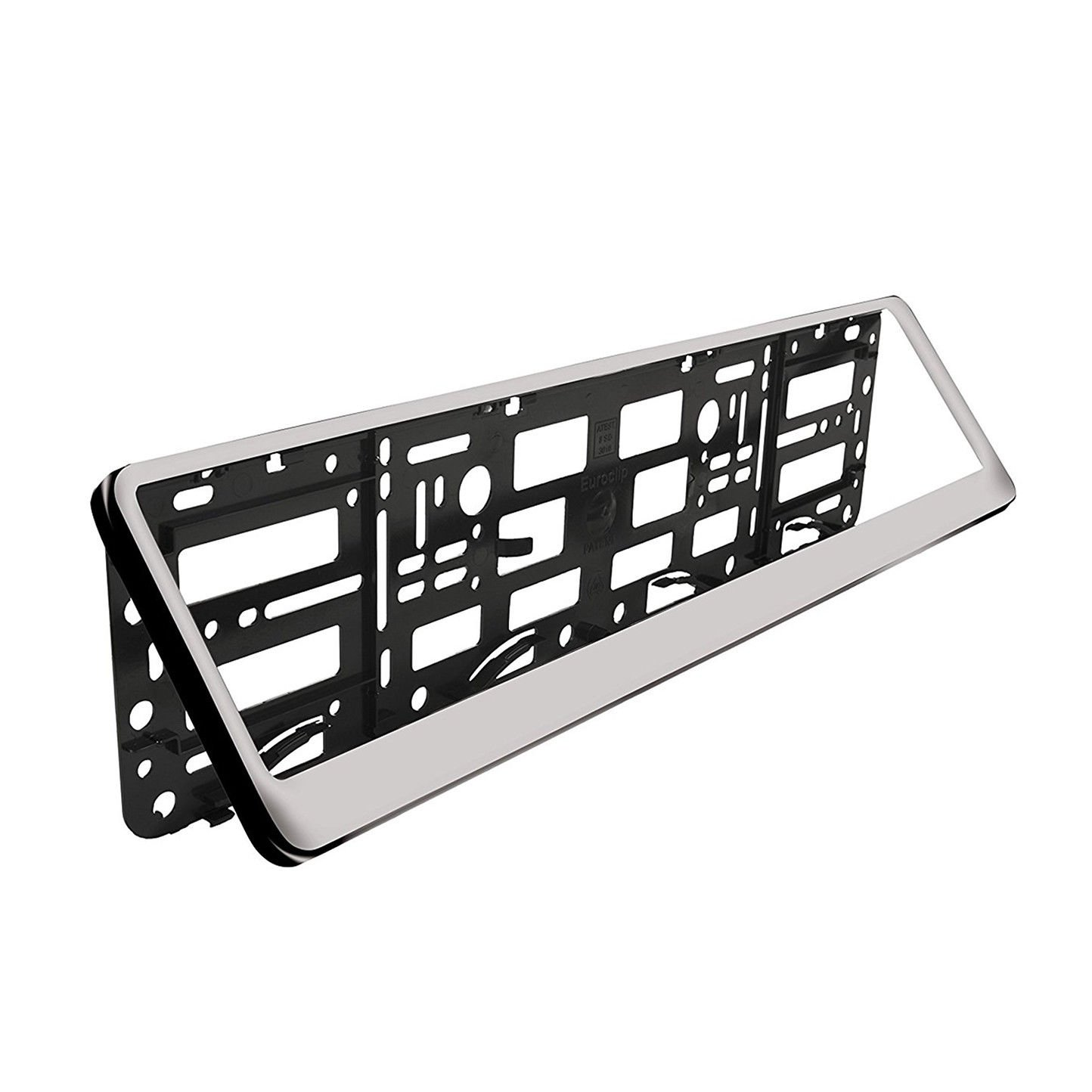 Red 2 x Number Plate Holders Frames Licence Plate Surrounds for Any Car