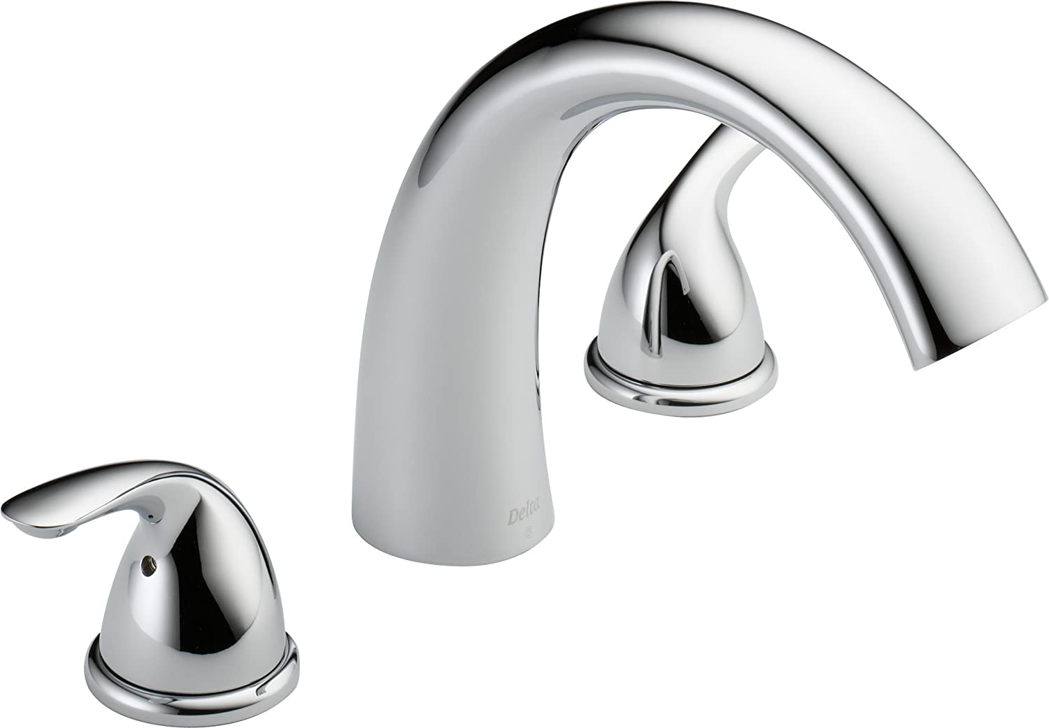 Beau Delta T2705 Roman Tub Trim, Chrome (Valve Sold Separately)   Two Handle Tub  Only Faucets   Amazon.com