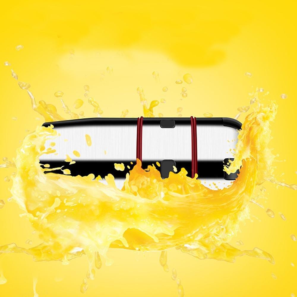 spremiagrumi Manuale Arancione spremiagrumi in Acciaio Inox Separato Seed Interamente Womdee Mano spremiagrumi Pure Ufficio utilizzando palmare spremiagrumi per casa di qualit/à Alimentare