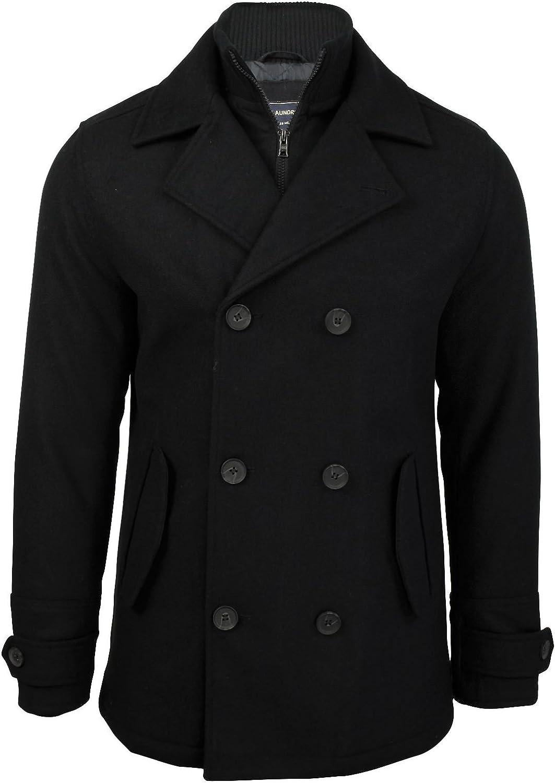 Tokyo Laundry Mens Double Breasted Melton Jacket Coat Hexacode