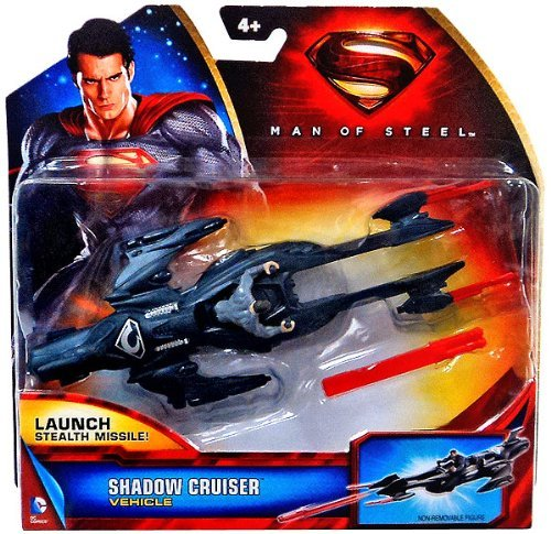 Superman Man of Steel the Movie: General Zod Shadow Cruiser Y0817