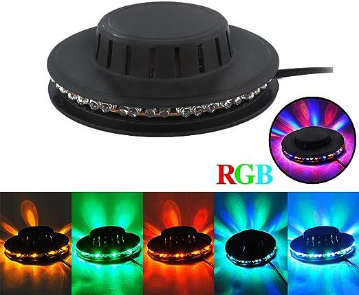 ASDAD Mini 48 LED RGB Iluminación De Escenario Disco Proyector ...