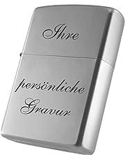 Zippo Benzinfeuerzeug inkl. Gravur nach Wunsch