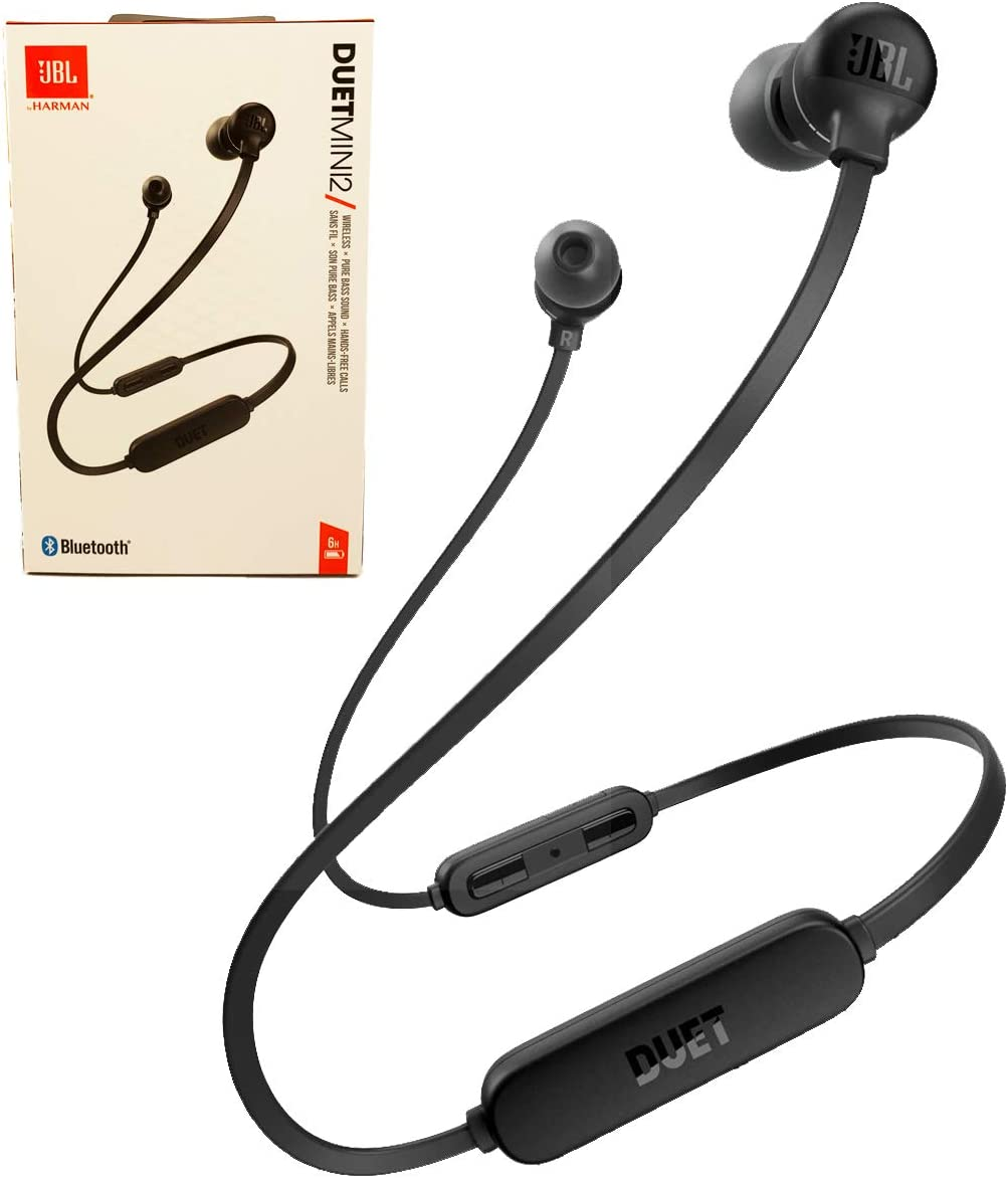 JBL Duet Mini 2 Wireless Bluetooth inEar HeadphonesEarbuds Hands Free Calls Pure Bass Sound Black at Kapruka Online for specialGifts