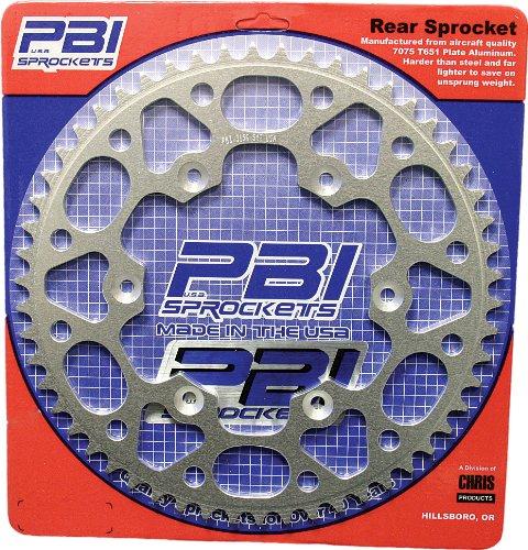 PBI Aluminum Rear Sprocket - 42T , Sprocket Teeth: 42, Sprocket Position: Rear, Material: Aluminum, Color: Natural, Sprocket Size: 520 4058-42 Pbi Aluminum Rear