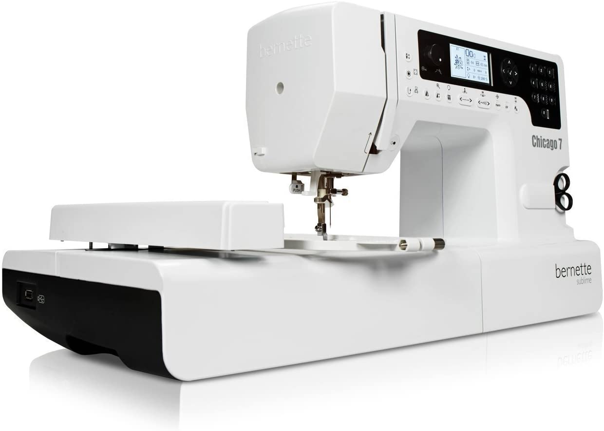 Bernina 4260366210536 - Maquina de Coser y Bordar Bernette Chicago 7