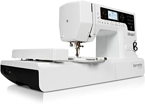 Bernina 4260366210536 - Maquina de Coser y Bordar Bernette Chicago 7: Amazon.es: Hogar
