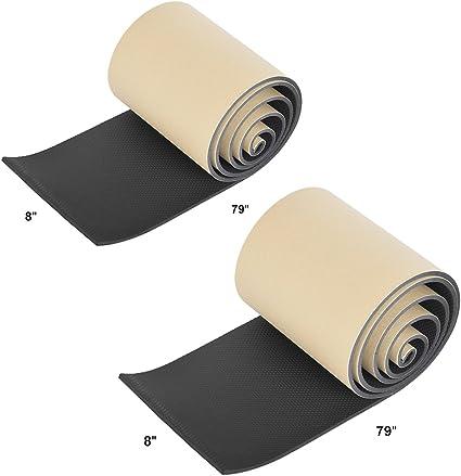 2 en 1 Rovtop 2 piezas Protectores para Puertas de Garaje Protectores de Pared para Garaje de 5 mm de Espesor