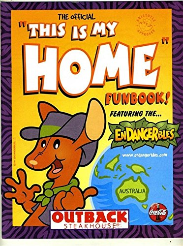Outback Steakhouse Joey Kids Menu The Official This Is My Home Funbook