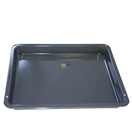 Enamelled Drip Pan Deep Baking Tray 425 X 360 X 43 Mm Suitable