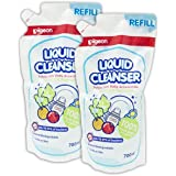Pigeon Liquid Cleanser Refill (700ml, Pack of 2)