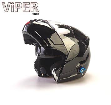 Viper RS-V131 casco de moto Negro negro Talla:59-60 cm (